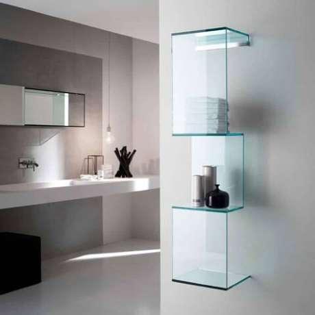 13. Prateleiras com design moderno
