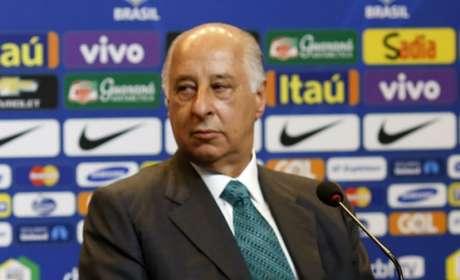 Marco Polo Del Nero, ex-presidente da CBF foi banido do futebol de forma oficial pela Fifa (Foto: Leo Correa/Mowa Press)