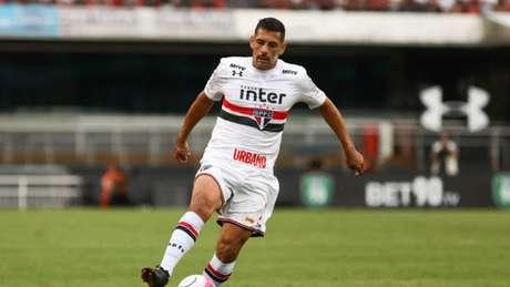 Diego Souza esteve muito próximo de ir para o Vasco, mas o São Paulo vetou a negociação (Foto: Ricardo Moreira/Fotoarena/Lancepress!)