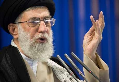 Líder supremo do Irã, aiatolá Khamenei 14/09/207 REUTERS/Morteza Nikoubazl