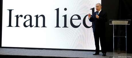 Netanyahu fez apresentação em inglês