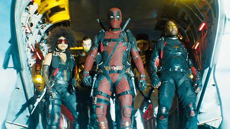 Deadpool e seu grupo X-Force