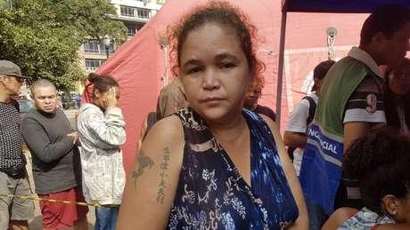 Francisca Santos Silva morava no edifício com o marido e cinco filhos