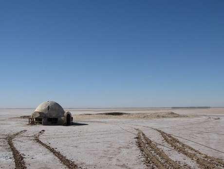 Chott el Jerid, na Tunísia