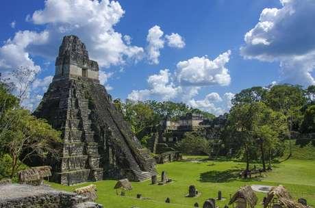 Parque Nacional de Tikal, na Guatemala