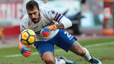 Emiliano Viviano deve ser o novo goleiro do Sporting para a próxima temporada (AFP)