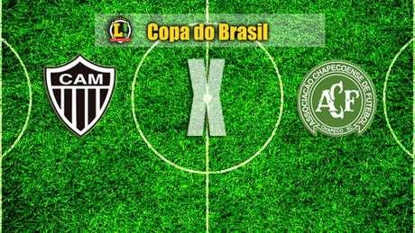Apresentação Atlético-MG x Chapecoense