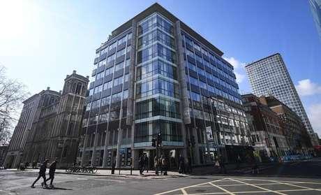 Sede da Cambridge Analytica no Reino Unido