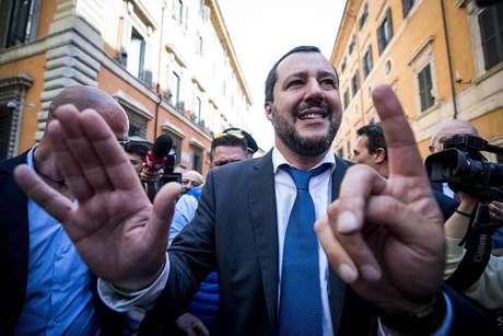 Salvini diz estar pronto para dialogar com M5S sobre acordo