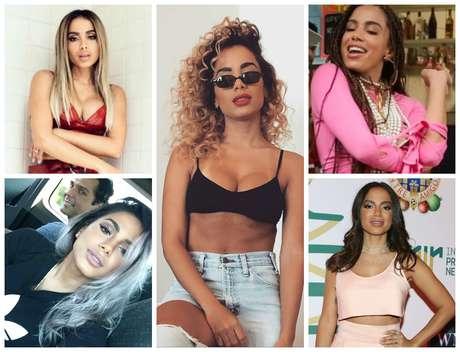 As várias versões da Anitta (Fotos: AgNews/Reprodução/Instagram)