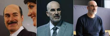 O ator Eduardo Semerjian em 'Maysa', 'Rotas do Ódio' e 'O Negócio'