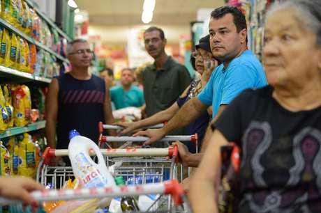 Consumidor sentiu no bolso aumento da inflação