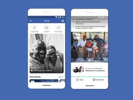 """Facebook Dating dispensa corações em prol de experiências """"mais significativas"""" (Imagem: Divulgação/Facebook)"""