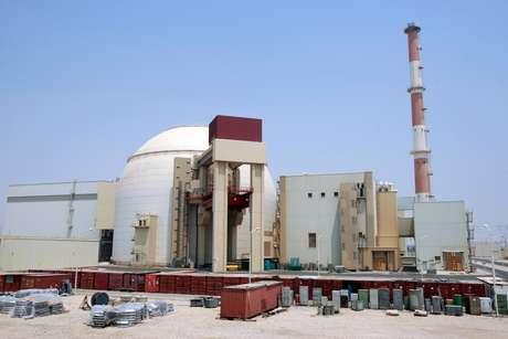 Vista geral da usina nuclear de Bushehr, ao sul de Teerã