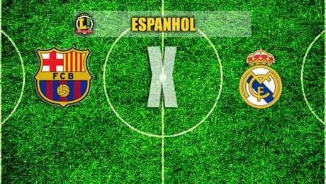 Apresentação - Barcelona x Real Madrid