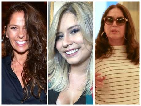 Mudanças de visual das famosas (Fotos: Leo Franco/Thiago Martins/AgNews - @mariliamendoncacantora/Instagram/Reprodução)