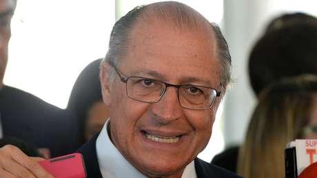 Temer tenta se aproximar de Geraldo Alckmin (foto), o candidato de centro-direita com melhor resultado nas pesquisas