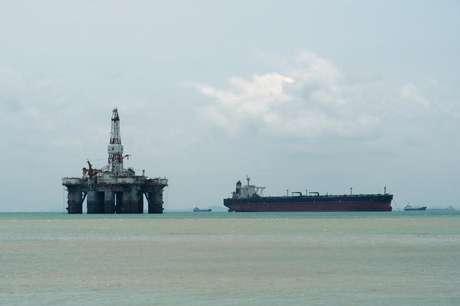Sonda de petróleo na costa 01/03/2018 REUTERS/Henning Gloystein