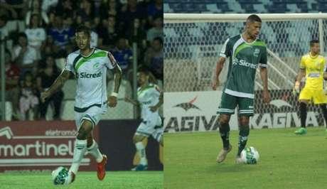 Diogo Sodré e Rafael Silva esperam recuperação do time na temporada (Foto: Montagem/Flickr Luverdense)