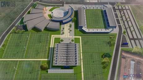 Obras da nova arena ainda não foram concluídas; objetivo é arrecadar fundos para isso