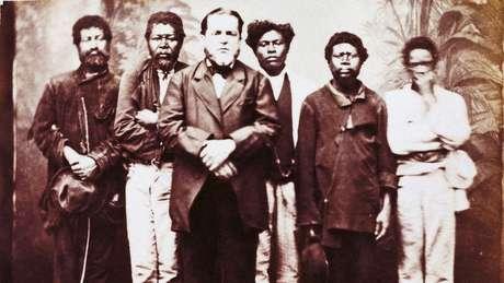 'O Brasil foi o ultimo país do Ocidente a abolir a escravidão. Às vezes as pessoas falam que foi o último das Américas, mas não. De fato, era chamado na época de retardão', diz Schwarcz