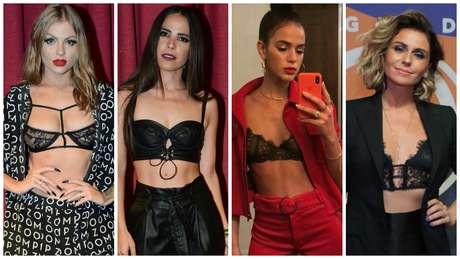 Luisa Sonza, Wanessa, Bruna Marquezine, Giovanna Antonelli (Fotos: AgNews/Reprodução/Instagram)
