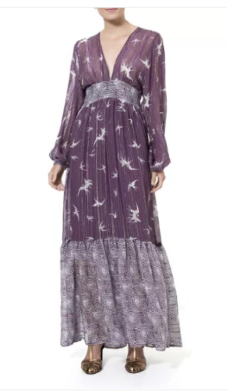Vestido Ella Lurex/Reprodução/Ateen
