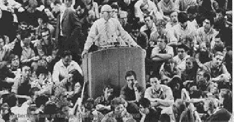 Marcuse e os estudantes, Berlim 1967