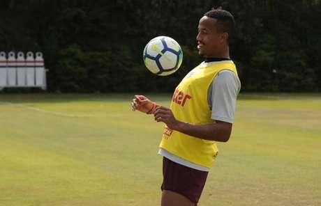 Militão está no radar de clubes europeus desde 2017, quando estreou no time principal (Rubens Chiri/saopaulofc.net)