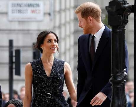 Príncipe Harry e sua noiva Meghan Markle  23/04/2018 REUTERS/Peter Nicholls