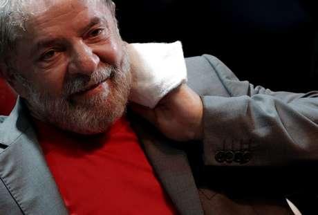 Ex-presidente Luiz Inácio Lula da Silva durante evento no Rio de Janeiro 02/04/2018 REUTERS/Ricardo Moraes