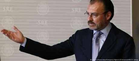 Ministro do Exterior do México anunciou pedido do grupo