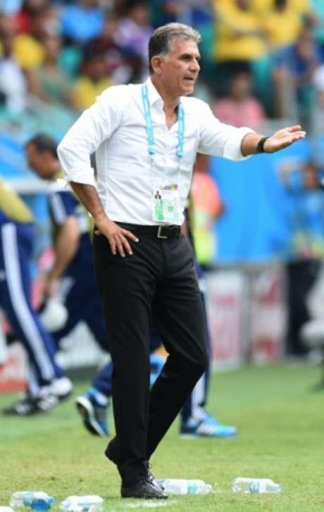 Carlos Queiroz convocou 35 para a Copa (Foto: JAVIER SORIANO / AFP)