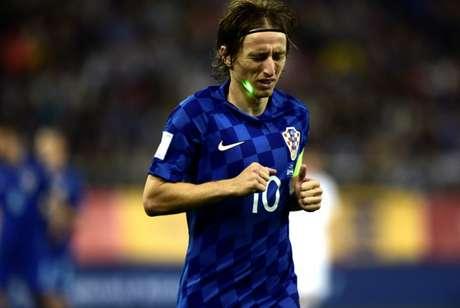 Luka Modric é uma das referências da Seleção Croata (Foto: Angelos Tzortzinis/AFP)