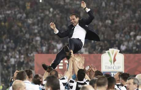 Allegri tem quatro títulos do Campeonato Italiano pela Juventus (Foto:  Isabella Bonotto / AFP)