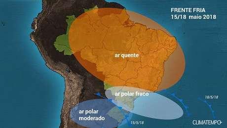 Semana começa com temperaturas baixas no Rio Grande do Sul
