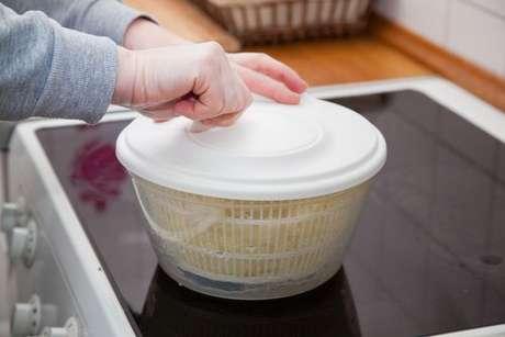 Centrífuga secadora de salada