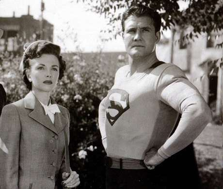Phyllis Coates nos anos 1940