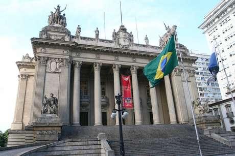 Fachada da Assembleia Legislativa do Rio de Janeiro