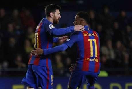 Para Messi, ida de Neymar ao Real seria 'um duro golpe'
