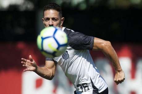 Jean Mota espera que Santos tenha 'força mental' para não ser surpreendido na quinta (Foto: Ivan Storti/Santos)