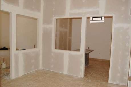 5. As paredes de gesso oferecem muitas vantagens