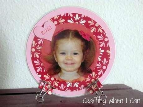 3. Modelo de porta retrato de CD