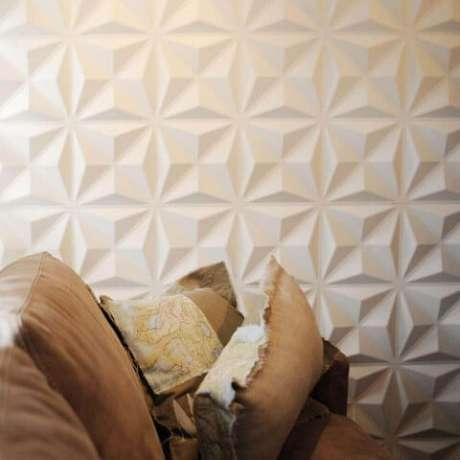 28. Os efeitos 3D das paredes de gesso são vários