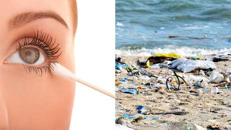 Cotonetes com haste de plástico estão entre os vilões que se acumulam nos oceanos e podem ser banidos junto com os canudos, nos próximos anos