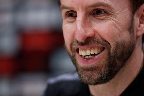 Técnico da Inglaterra, Gareth Southgate 26/03/2018  Action Images via Reuters/John Sibley