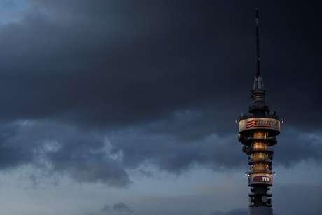 Torre da Telecom Italia em Roma, Itália 09/04/2016 REUTERS/Alessandro Bianchi