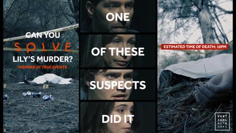 Em Solve, os espectadores terão que descobrir quem é o assassino (Imagem: Vertical Networks)