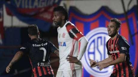 Flamengo foi eliminado no último minuto da LIbertadores no ano passado (Gilvan de Souza / Flamengo)