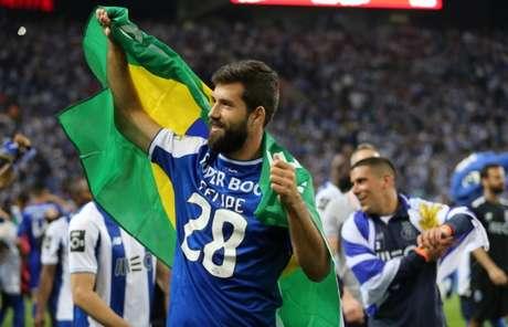 Felipe foi titular indiscutível da equipe portuguesa na temporada do título (Divulgação/FC Porto)